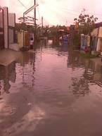 Banjir Puri harapan  Foto by ETS
